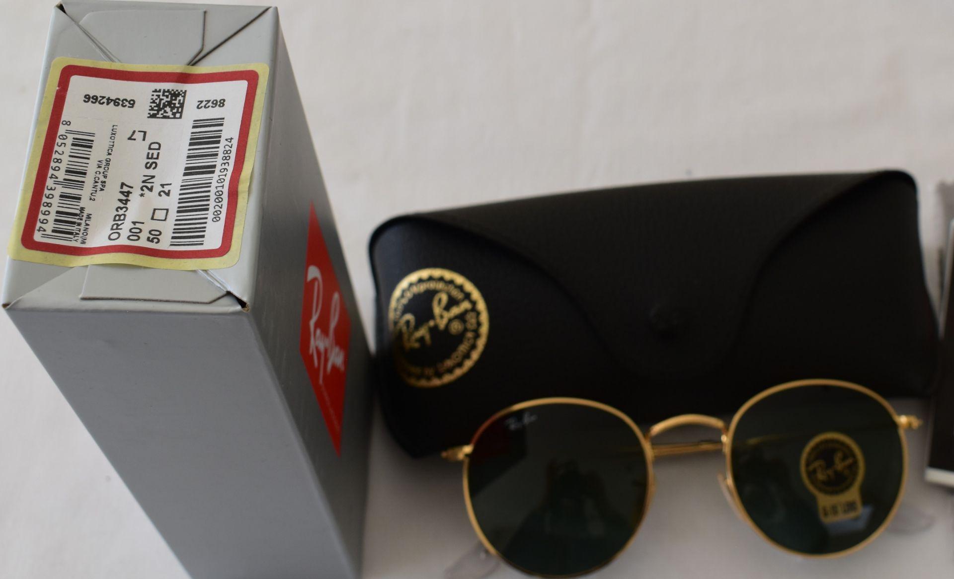 Ray Ban Sunglasses ORB3447 001 *2N - Image 2 of 2