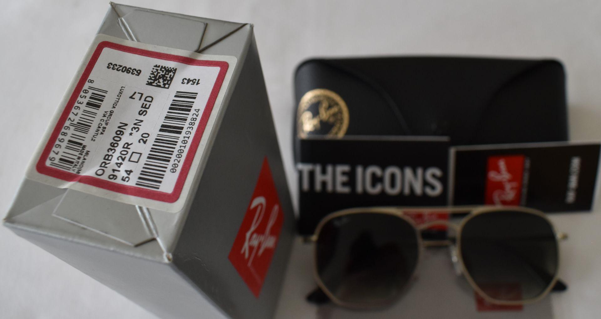 Ray Ban Sunglasses ORB3609N 91420R *3N - Image 3 of 3