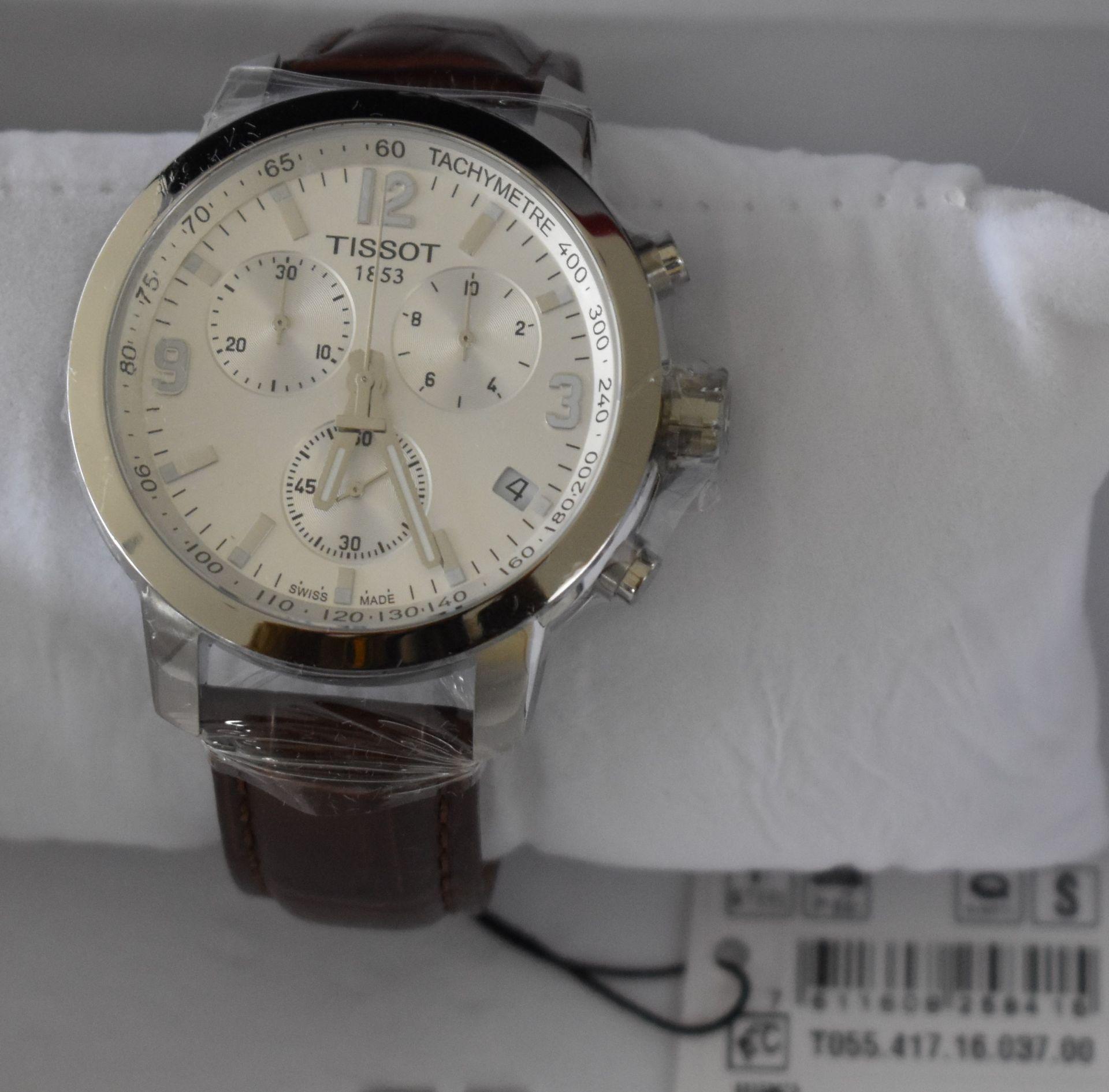 Tissot Men's Watch TO55.417.16.037.00