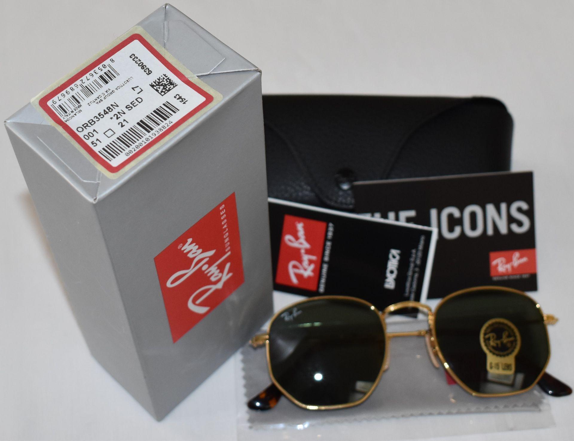 Ray Ban Sunglasses ORB3548N 001 *2N - Image 2 of 2