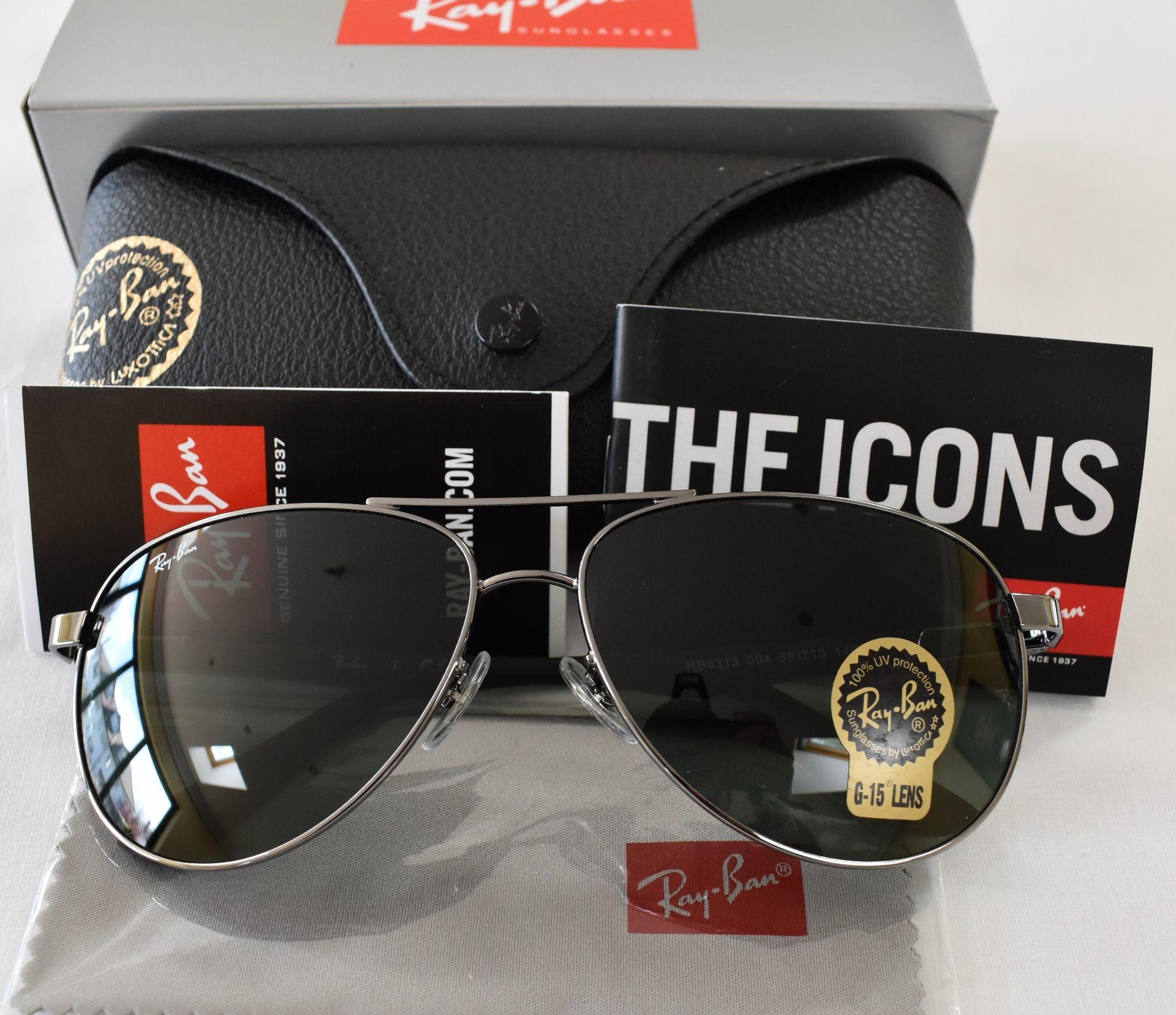 Ray Ban Sunglasses ORB8313 004 *2N - Image 2 of 3