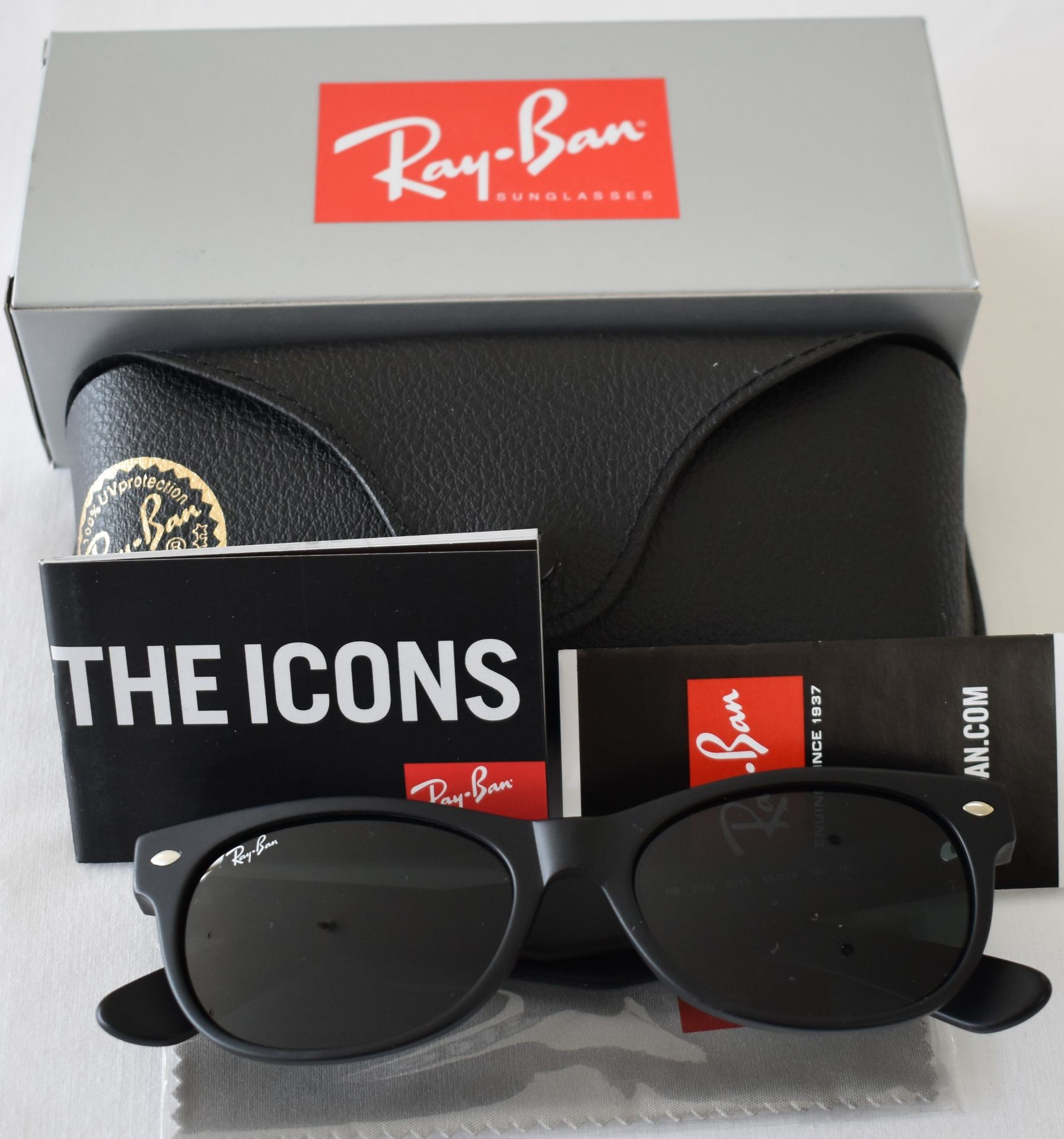 Ray Ban Sunglasses ORB2132 901S *3N - Image 2 of 3