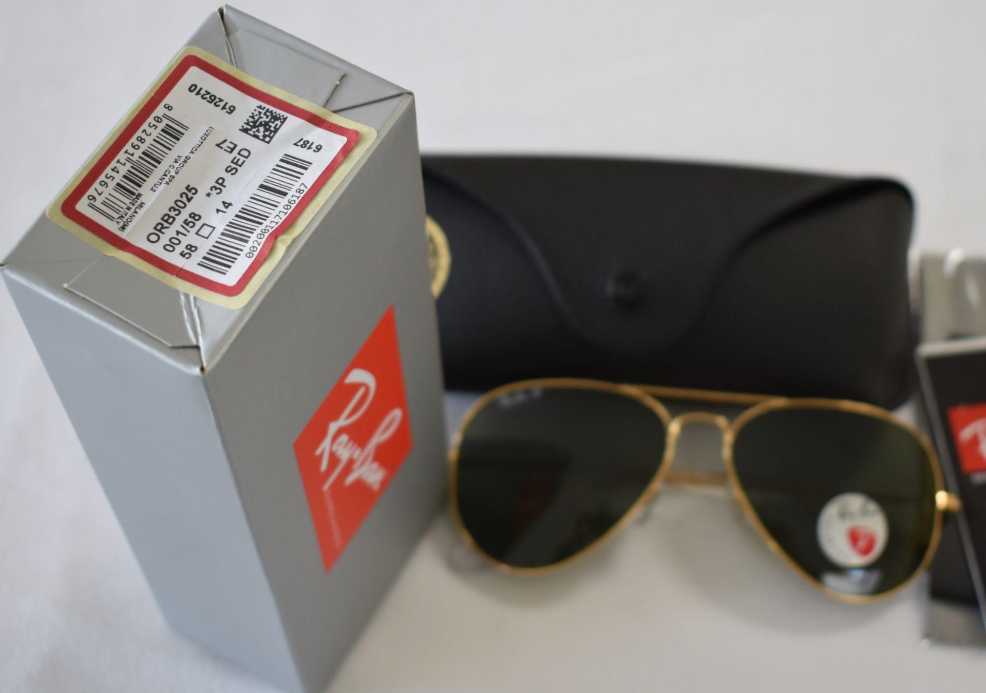 Ray Ban Sunglasses ORB3025 001/58 *3P - Image 2 of 2