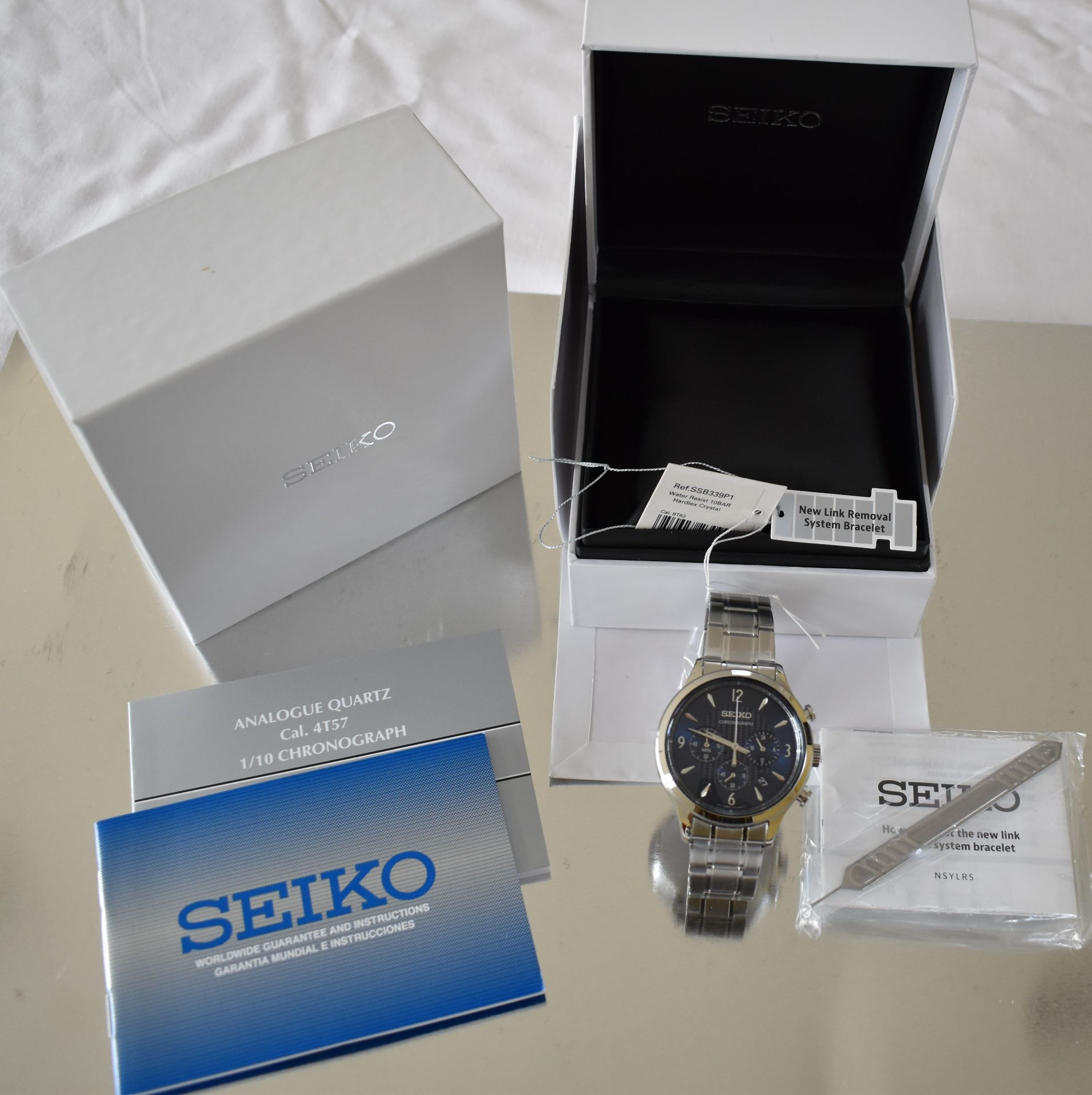 Seiko Men's Watch SSB339P1