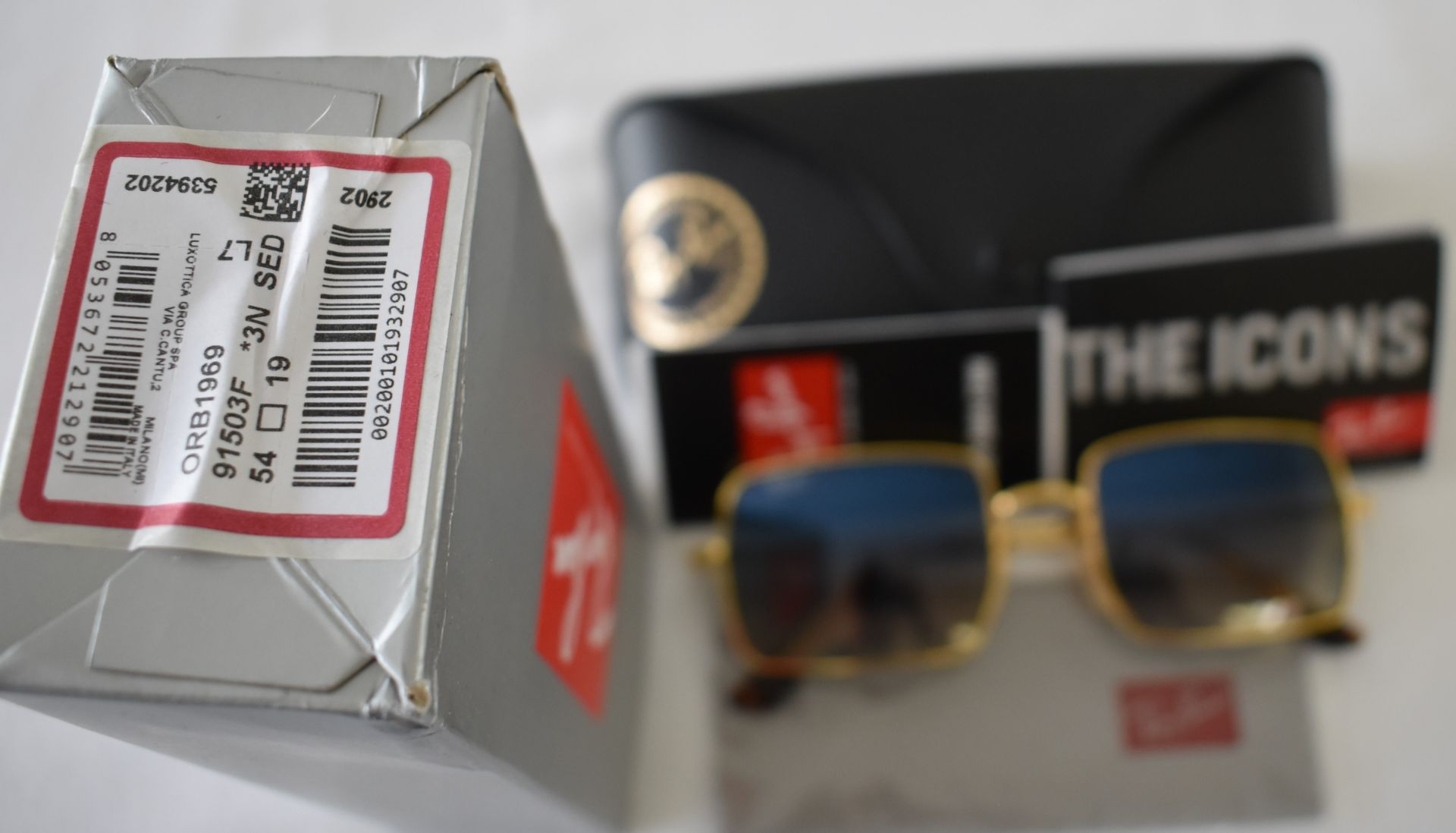 Ray Ban Sunglasses ORB1969 91503F *3N - Image 3 of 3