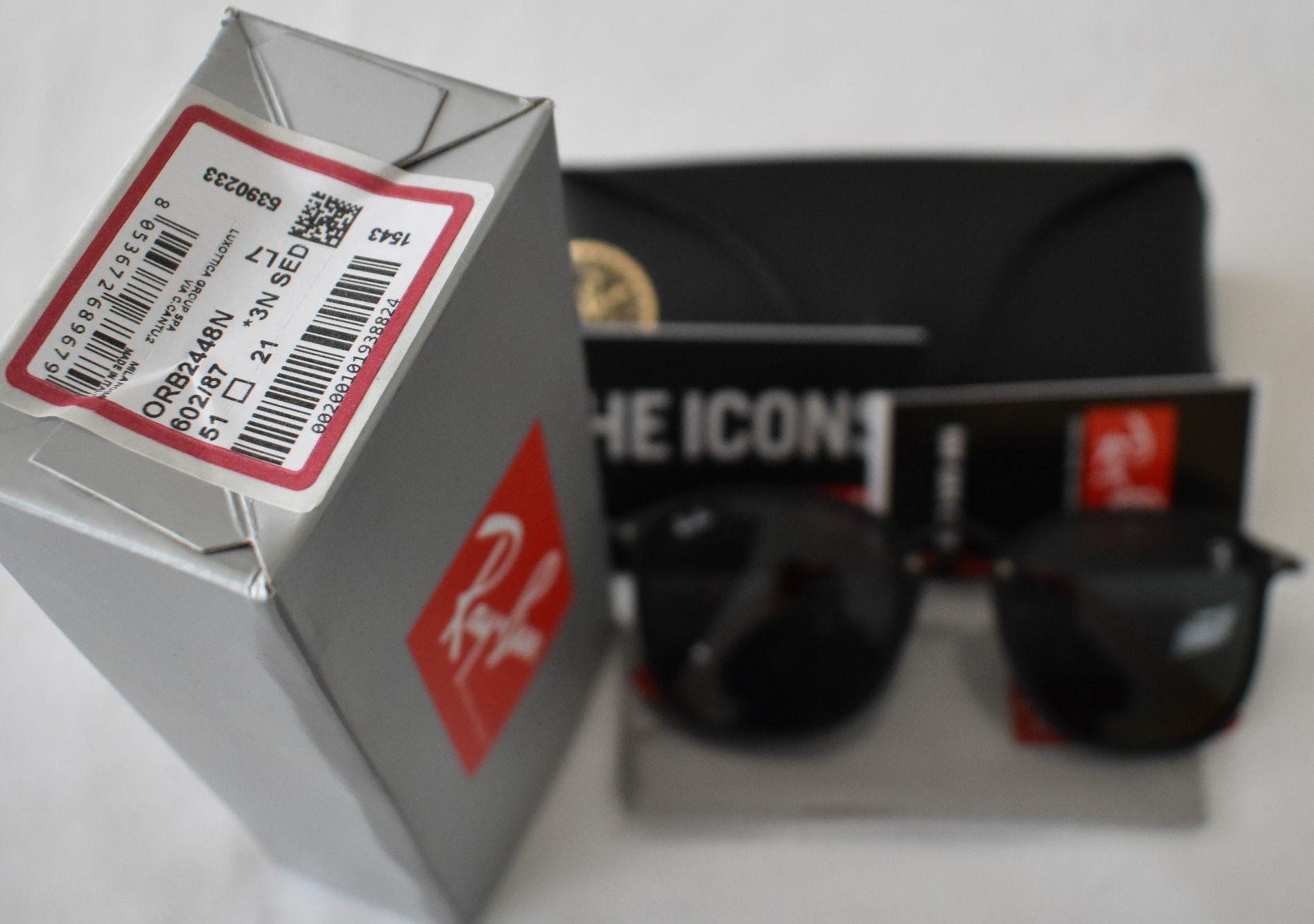 Ray Ban Sunglasses(Ferrari) ORB2448N 602/87 *3N - Image 4 of 4