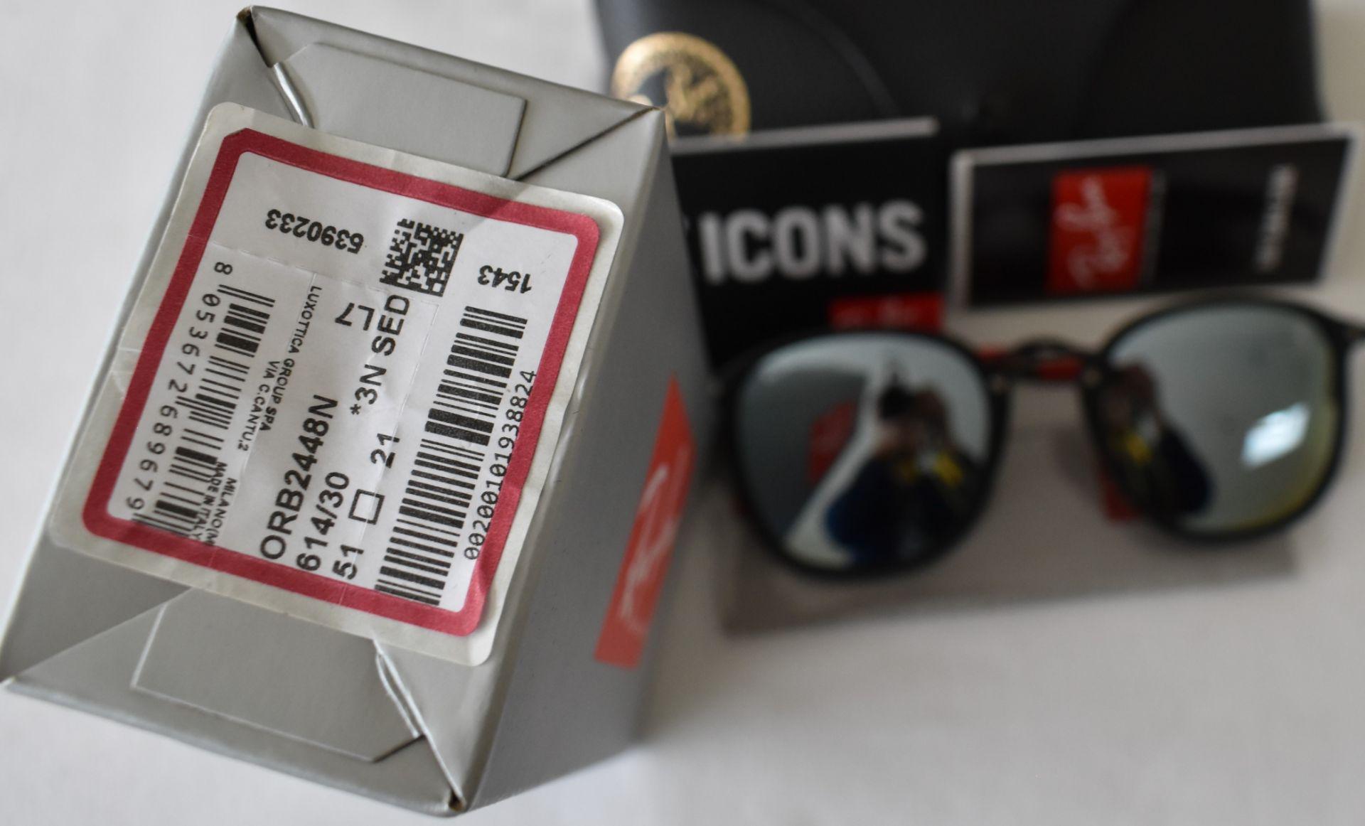 Ray Ban Sunglasses(Ferrari) ORB2448N 614/30 *3N - Image 4 of 4