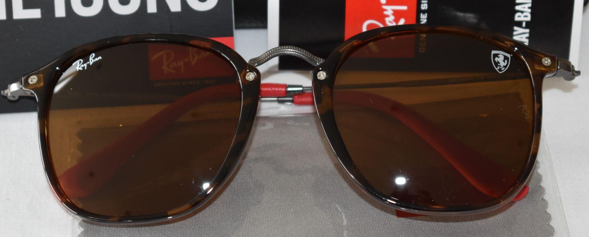 Ray Ban Sunglasses (Ferrari)ORB2448N 710 *3N - Image 2 of 4