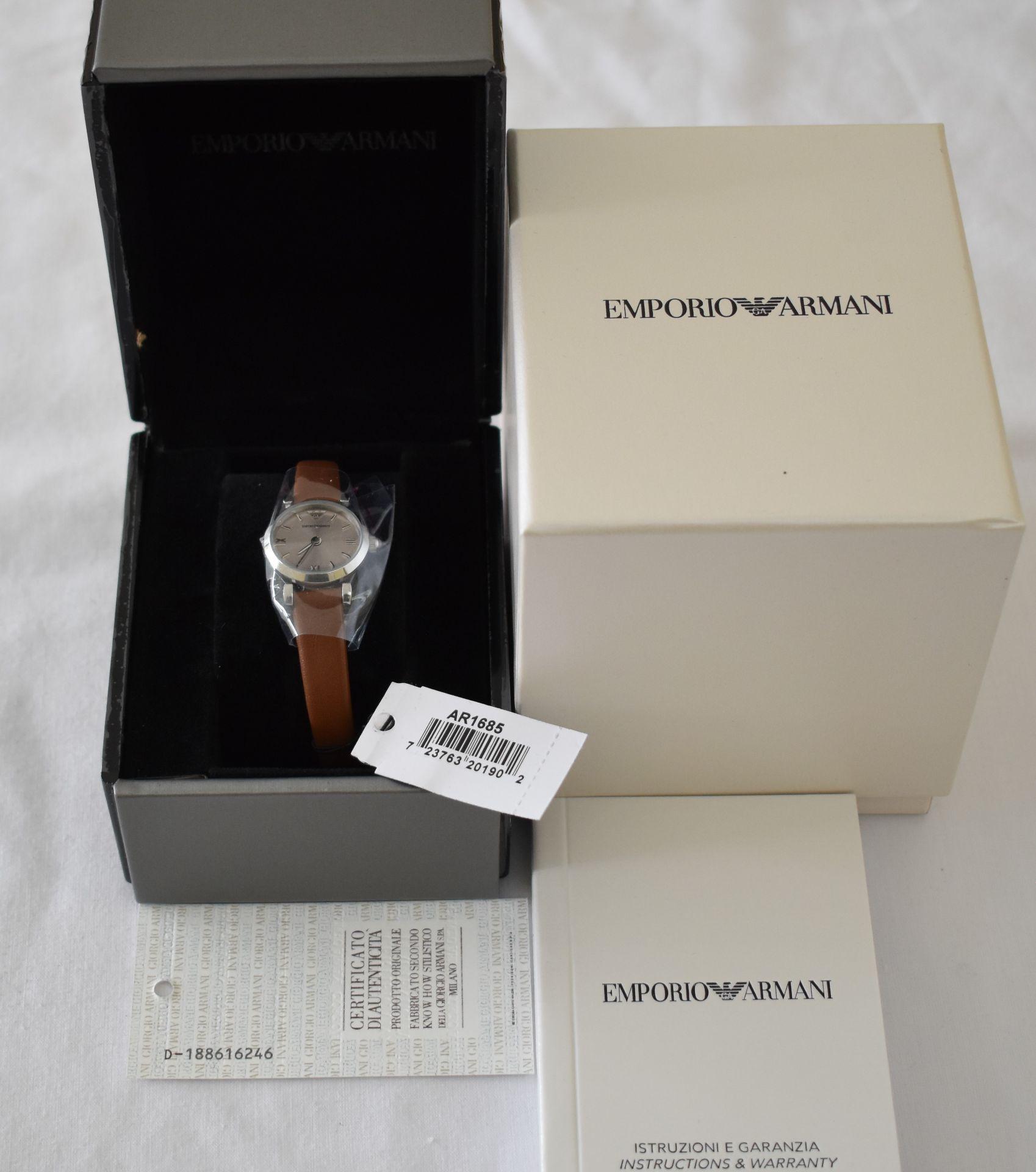 Emporio Armani AR1685 Ladies Watch
