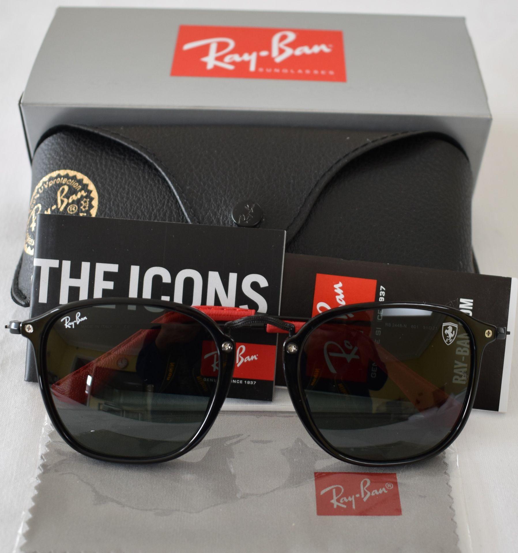 Ray Ban Sunglasses(Ferrari) ORB2448N 601 *3N