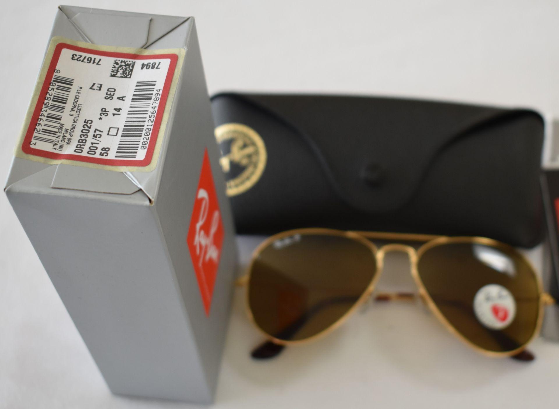 Ray Ban Sunglasses ORB3025 001/57 *3P - Image 2 of 2
