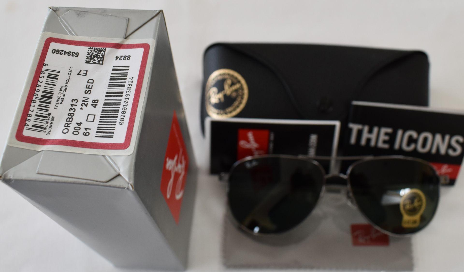 Ray Ban Sunglasses ORB8313 004 *2N - Image 3 of 3