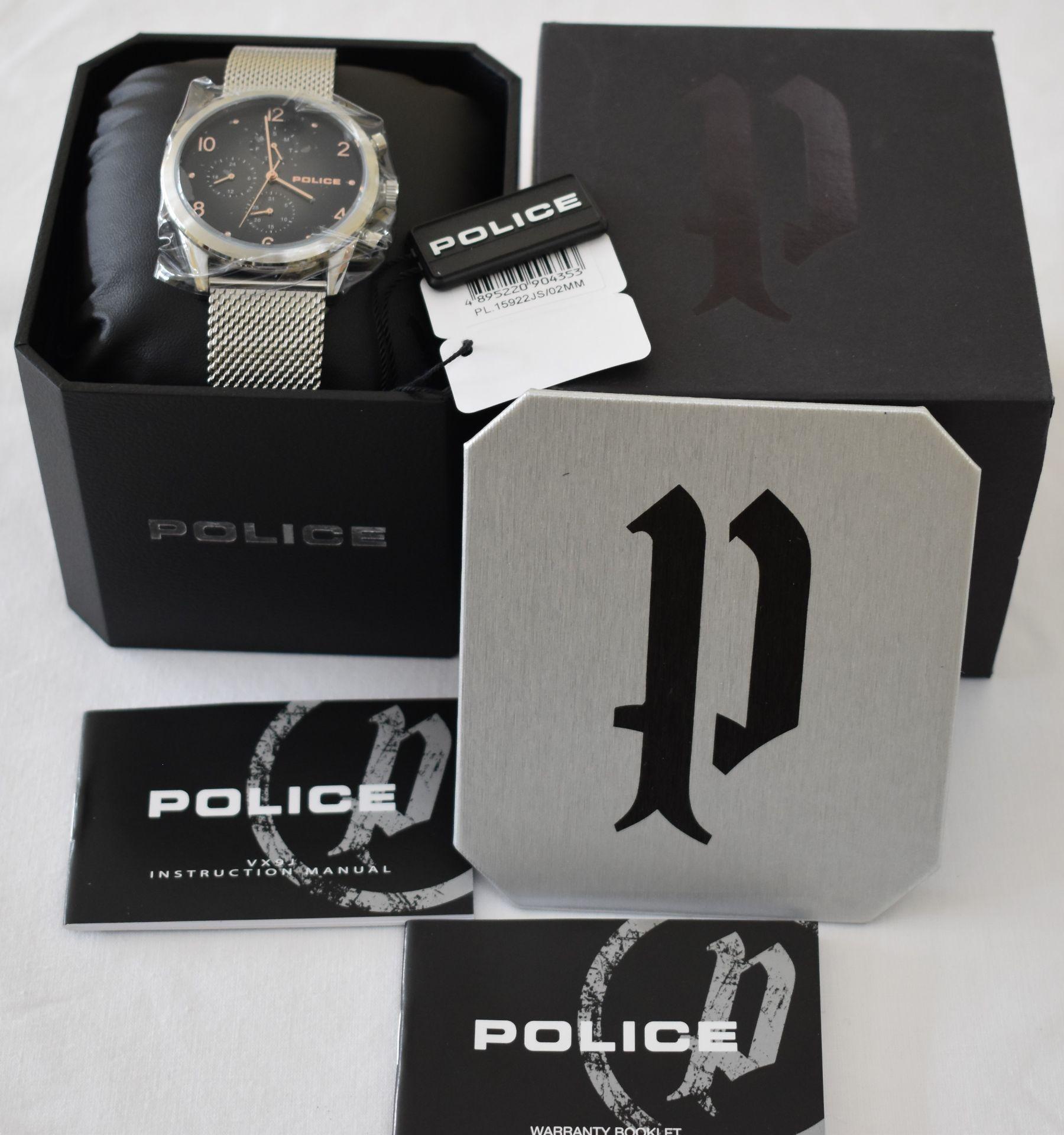 Police PL.15922JS/02MM Men's Watch