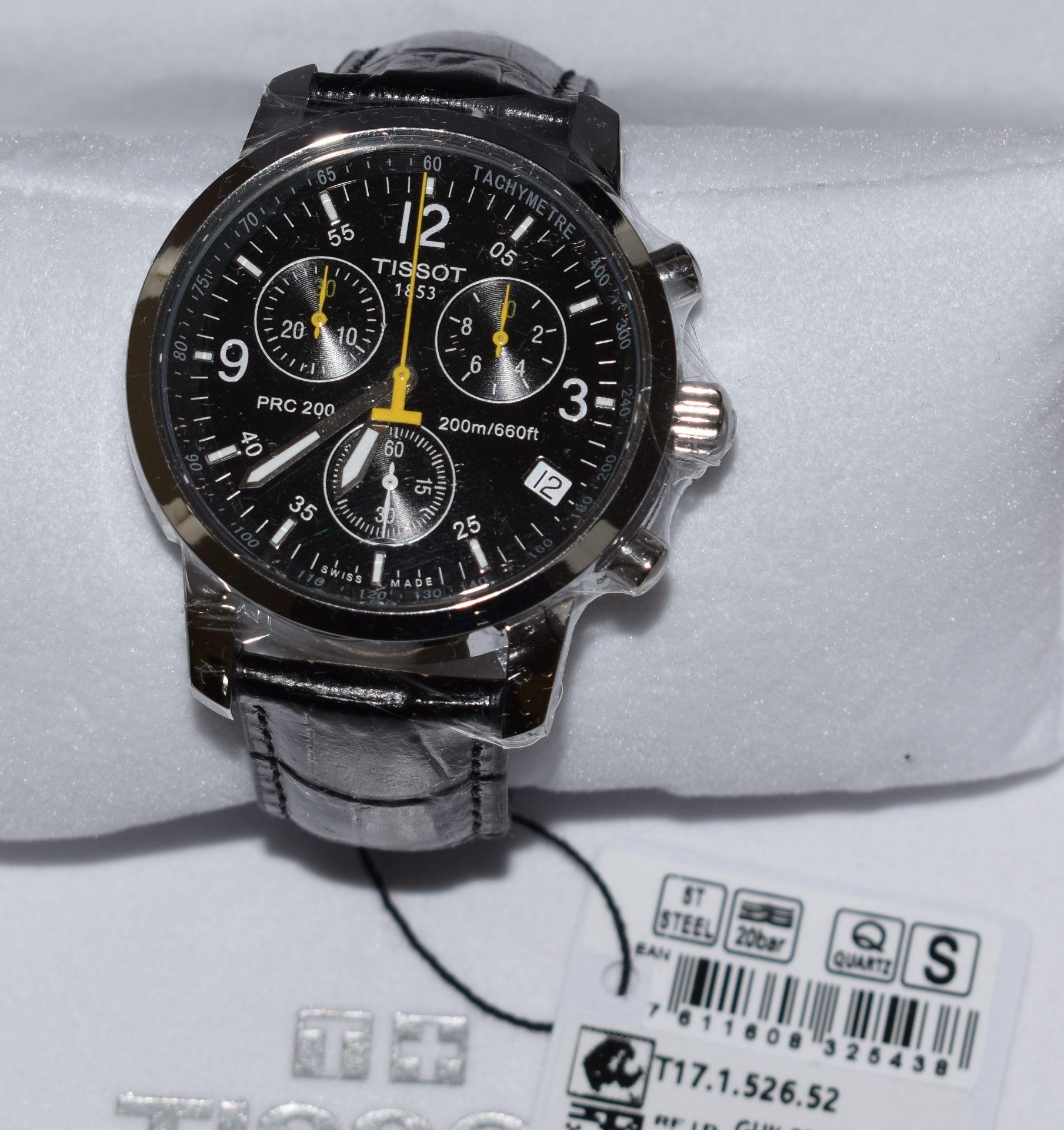 Tissot Men's Watch T17.526.52 - Image 2 of 3