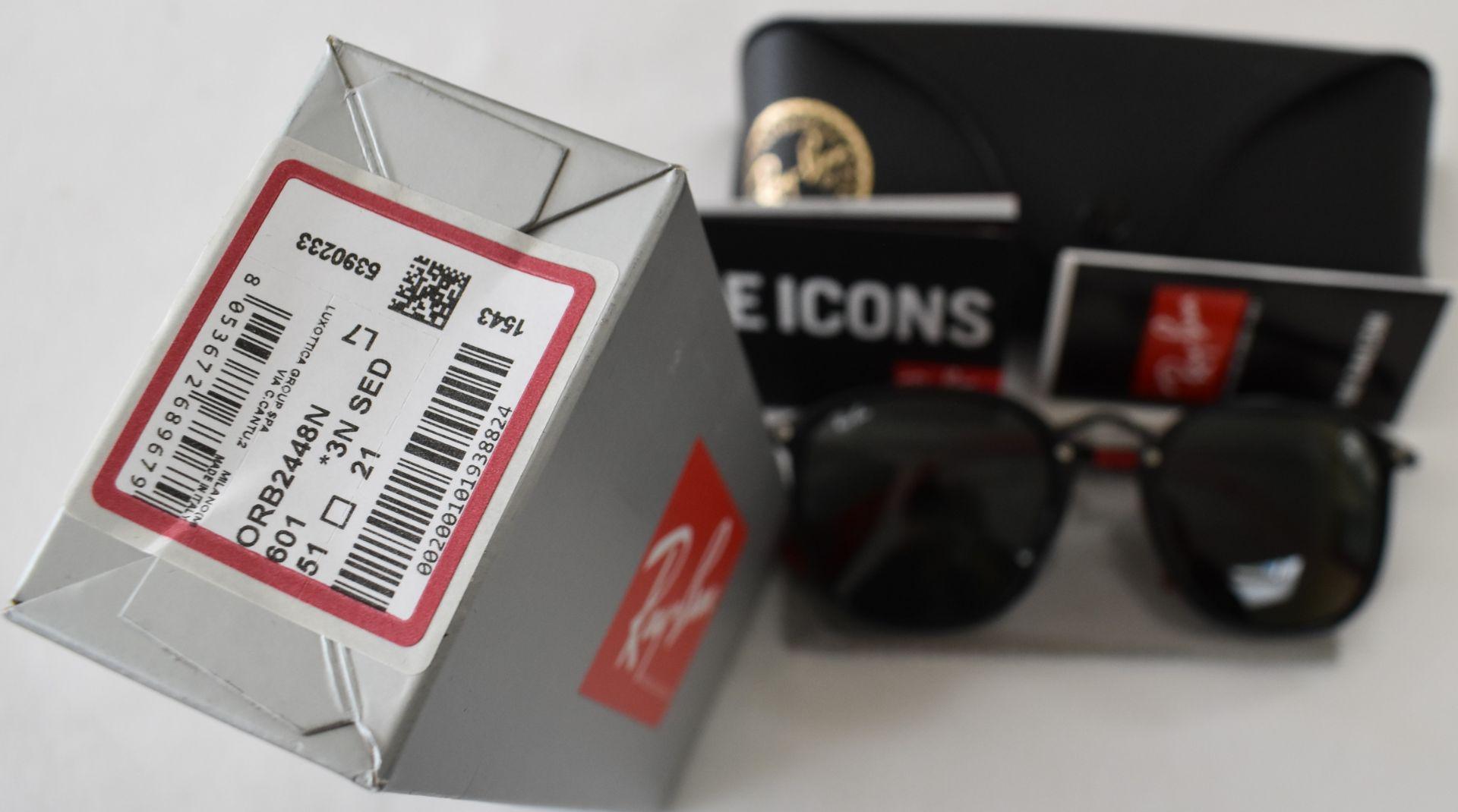 Ray Ban Sunglasses(Ferrari) ORB2448N 601 *3N - Image 4 of 4
