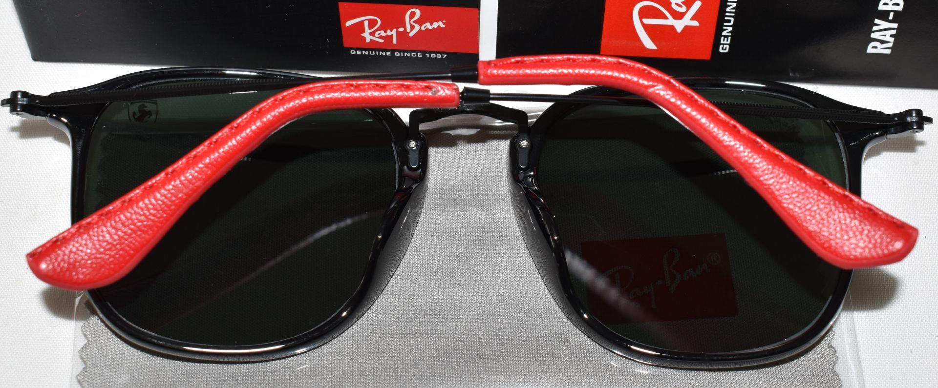 Ray Ban Sunglasses(Ferrari) ORB2448N 601 *3N - Image 3 of 4