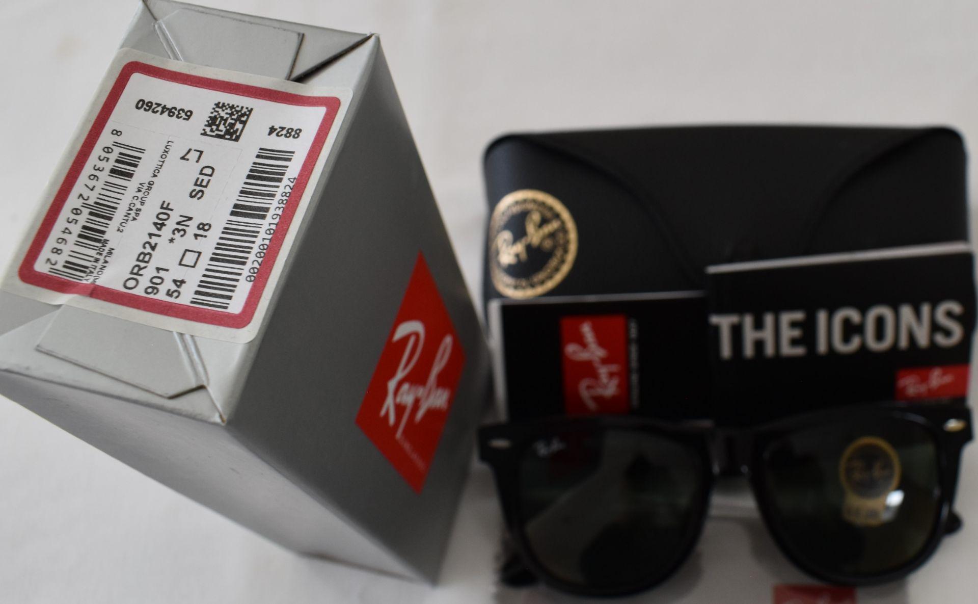 Ray Ban Sunglasses ORB2140F 901 *3N - Image 2 of 2