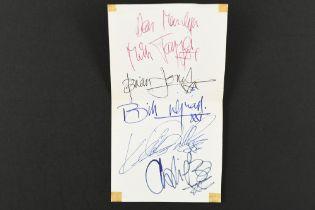 ROLLING STONES Original signatures