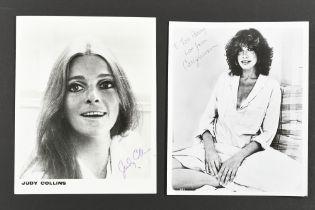 JUDY COLLINS & CARLY SIMON Original signatures