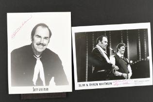 SLIM WHITMAN Original signature