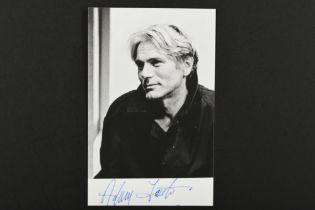 ADAM FAITH (1940-2003) Original signature