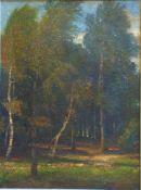 Eicken, Elisabeth von, Darßwald, Öl, 69 x 51, signiert Eicken, Elisabeth von, Darßwald, Öl, 69 x