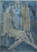 Liessner-Blomberg, Elena, 3 Frauen, Mischt., 60 x 42, sign.