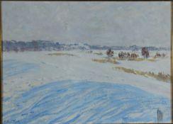 Andrae, Elisabeth, Winter, Öl, 32 x 44, sign.