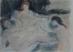Bengen, Harold Tronson, Frauenrunde, Mischt., 23 x 30, sign.