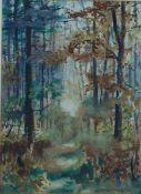 Zitzewitz, Augusta v., im Wald, Mischt., 39 x 28, sign.