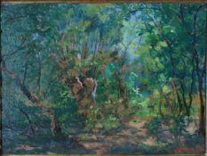 Gerresheim, Anna, Sommer, Öl, 36 x 49, sign.
