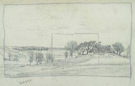 Müller-Kaempff, Paul, Dornenhaus, 1910, Zeichn., , sign.