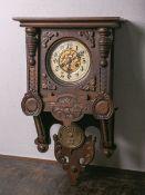 Regulator, sog. Schweischwinger Wanduhr (um 1900), Junghans-Werk, Federaufhängung, Schlag auf