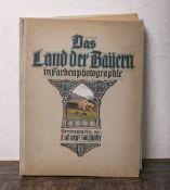 """Ganghofer, Ludwig (Hrsg.), """"Das Land der Bayern in Farbenphotographie"""", Band V, Zweiter Band, m."""