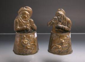 Zwei Weihwasserbehälter (19. Jh.),