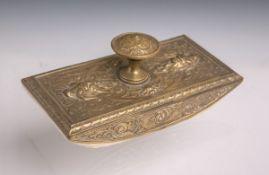 Tintenabroller (Historismus), Bronze,
