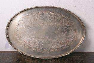 Gr. ovales Tablett (England, wohl