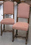 Zwei Stühle (wohl Gründerzeit), Eichenholz