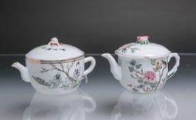 Konvolut von zwei Teekannen (wohl Japan)
