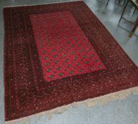 Orientteppich, wohl Tekke (Turkmenistan)