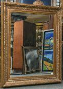 Spiegel in einer alten Gemälderahmung