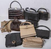 Konvolut alter Handtaschen (1900 - 1950)