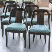 6 Stühle im Empire-Stil (Frankreich, um 1900)