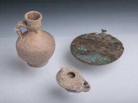 3-teiliges Konvolut antiker Ausgrabungen