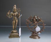 2 Figuren (wohl Tibet, Alter unbekannt)