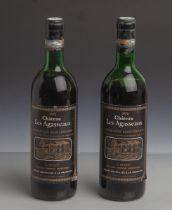 2 Flaschen Rotwein, Château Les Agasseaux