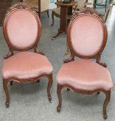2 Stühle (Louis Philippe, um 1860/70)