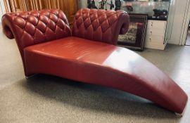 Chaiselongue (wohl 1980er Jahre), Designer Sitzmöbel