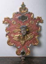 Geschnitzte Wandreliefplatte (im Stil