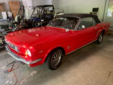 1966 Ford Mustang Convertible - SOLD WITH BILL OF SALE ONLY!